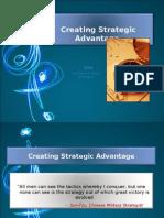 Creating Strategic Advantage
