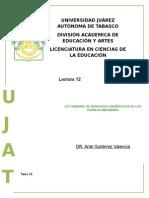 Tema 12 LEY GENERAL DE DERECHOS LINGÜÍSTICOS DE LOS PUEBLOS INDÍGENAS