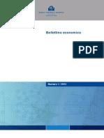 Bollettino Economico BCE n. 1.2015