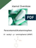 Paracetamol Overdose Latest