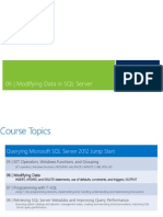 06 - Modifying Data in SQL Server