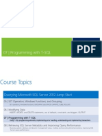 07 - Programming With T-SQL