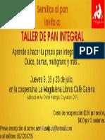 Taller Pan Integral