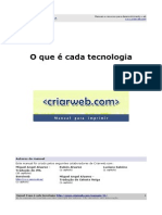 Manual Das Tecnologias Web