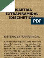 disartria extrapiramidal
