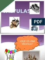 Diapositiva de Válvulas