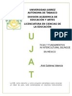 tema 16 politicas y fundamentos  de la educación intercultural