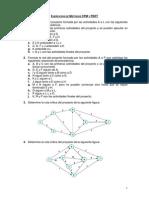 Ejercicios de Metodos CPM y PERT