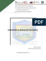 ExTENSO DE LA PONENCIA CONGRESO PEDAGÓGICO U.E. CAÑON HONDO