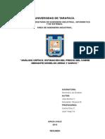 Análisis Crítico Jose M Sebastián O
