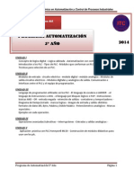 Programa de Automatizacionn
