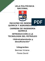 Hidrotratamiento y Desulfuración