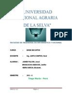 Monografia de las diferencias de Oracle 12g