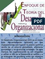 9.Enfoque de La Teoría Del Desarrollo Organizacional