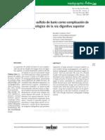 Caso_aspiración de Sulfato de Bario Como Complicación de Estudio Imagenológico Vía Digestiva Superior