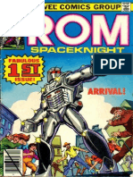 Rom Space Knight 1 Vol 1