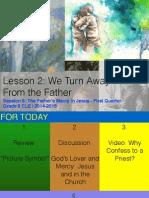 First Quarter Grade 6 Lesson 2 - Session 6 Jesus Church and Reconciliation