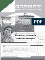 6P Simulacro Presencial-II 17conamat