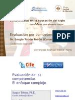 i.e.ricardo Palma - Canas- Evalaucion en El Enfoque Por Competencias - Sergio Tobon