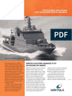 Wartsila SP B Navy OPV