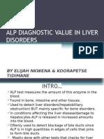 Alp Diagnostic Value in Liver Disorders