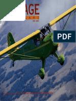 Vintage Airplane - May 2001