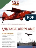 Vintage Airplane - Mar 2001