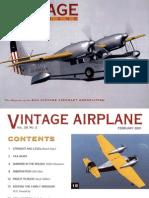 Vintage Airplane - Feb 2001