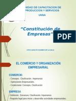 1. El Constitucion de Empresas 1 Parte