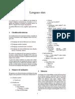 Lenguas Siux
