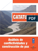 Conflictividad Catatumbo PNUD 2014