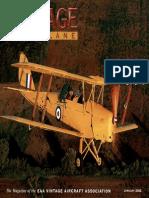 Vintage Airplane - Jan 2002