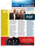 Business Events News for Mon 13 Jul 2015 - Fiji, Strategic Meetings Management, One&Only, Associations Forum & more