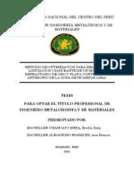 Tesis - Estudio de Optimizacion Para Mejorar La