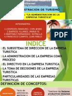 ADMINISTRACION DE LA EMPRESA TURISTICA EXPOSICION.pptx