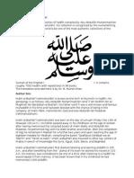 About Sahih Al Bukhari