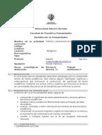 Programa Ana769lisis y C. de Textos Bachillerato Natalia Aguilera 2015 Alumnos