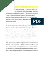 Antonio Gramsc Biografia