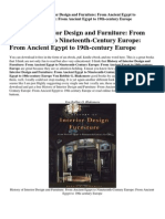 History Of Interior Design And Furniture Review