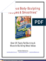 Delicious Body-Sculpting Recipes & Smoothies