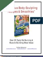 Delicious Body-Sculpting Recipes & Smoothies