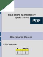 Operadores y precedencia