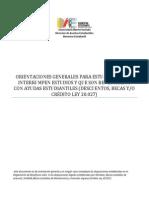 Orientaciones Sobre Interrupcion de Estudios Estudiantes Con Ayudas Estudiantiles Vf 07-07-2015