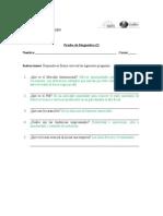 Prueba de Diagnóstico (2) Empresa 1
