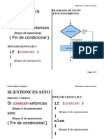 Pseudo-código vs. Lenguaje C