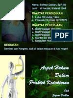 Hukum Kedokteran, 2015