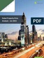 Dubai Property Price Analysis - Jan 2015