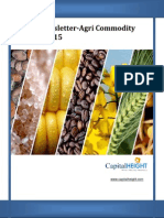 Agri-commodity Market Newsletter for Today by CapitalHeight
