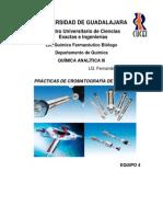 PRÁCTICAS DE CROMATOGRAFÍA DE GASES