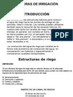 Estructuras de Irrigacion